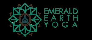 Emerald Earth Yoga - logo - PNG - title side