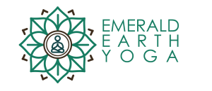 Emerald Earth Yoga - logo - PNG - title side