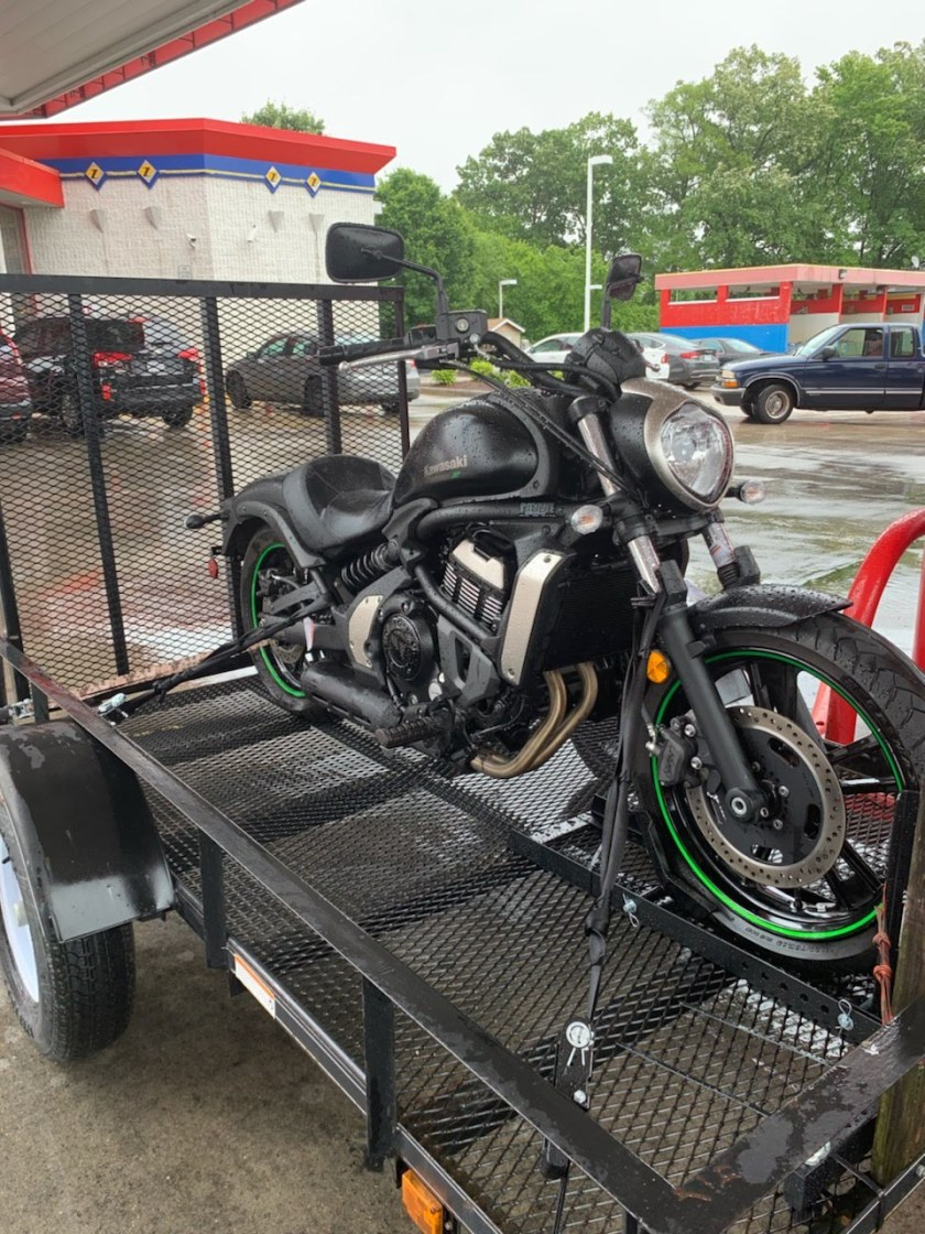 The day I bought my Kawasaki Vulcan S